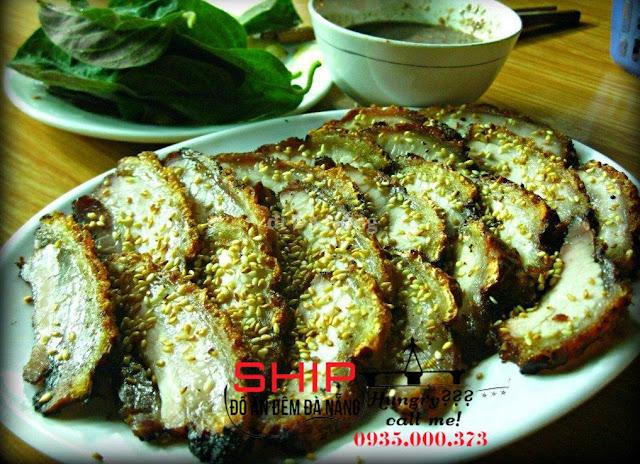 Ba chi nuong - Ship do an nhanh Da Nang