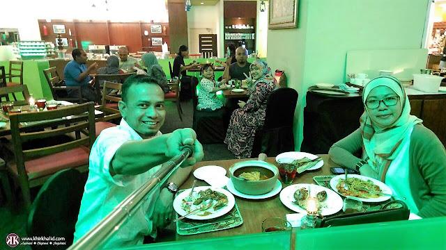 Khir Khalid, The Big Apple Restaurant, Berjaya Times Square Hotel Kuala Lumpur,