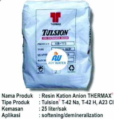 Kami Ady Water memiliki rumus tersebut. Ini salah satu kompetensi kami sebagai distributor Resin merek Amberlite, Amberjet, Dowex, Lewatit, Mitsubishi, Purolite, Resinex, Suqing, Thermax Tulsion.