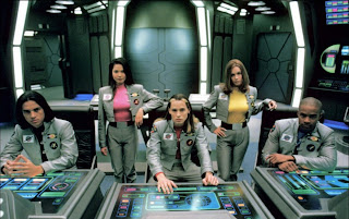 The cast of Power Rangers in Space