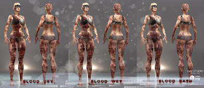 Ultimate Dirt 'n Blood for Genesis 2 Female