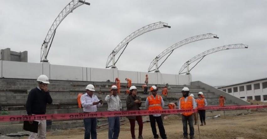 PRONIED inspeccionó avances de obras en la IE Carlos Augusto Salaverry de Sullana - www.pronied.gob.pe