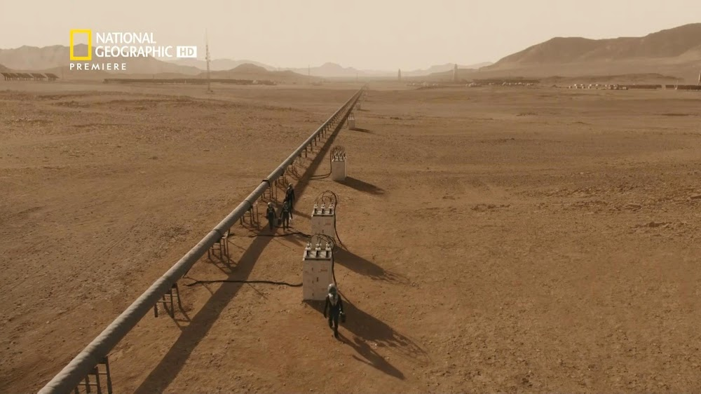 National Geographic MARS - episode 5, season 2 (power line)