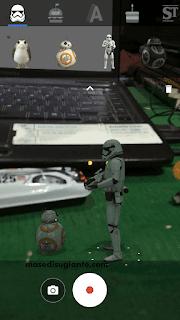 ar stiker semua android