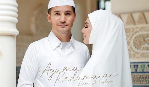 Lirik Lagu Agama Kedamaian by Dato Aliff Syukri ft Datin Shahida