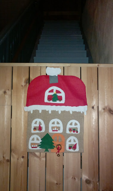 portaikko portti joulutalo