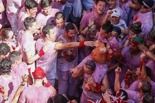 Spain's annual Running of the Bulls festival
