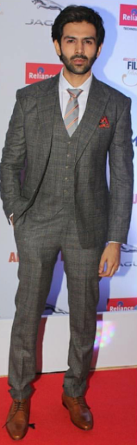 Kartik Aaryan in Alberto Torresi Shoes