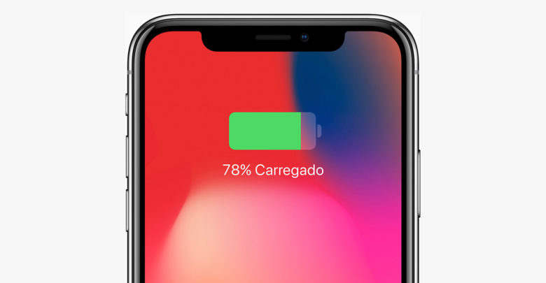 Bateria do iPhone X
