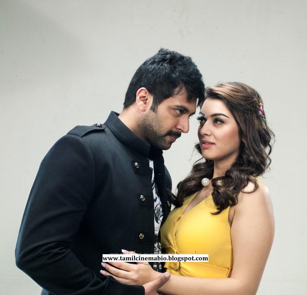 Tamil Actress Hansika Motwani And Tamil Actor Jeyam Ravi For Tamil Film Romeo Juliet Photo Gallery Wallpapers Pics