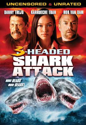 3 Headed Shark Attack (2015) โคตรฉลาม 3 หัวเพชฌฆาต