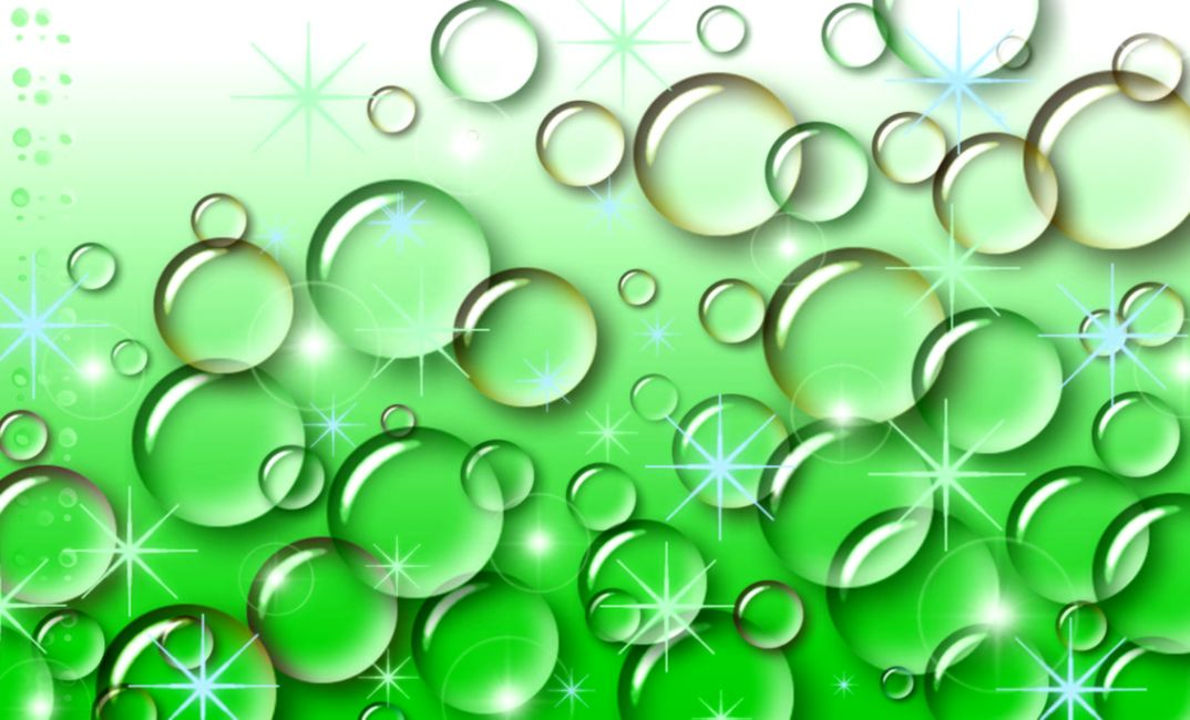 Green Bubbles Wallpaper Hd Wallpaper Background Hd