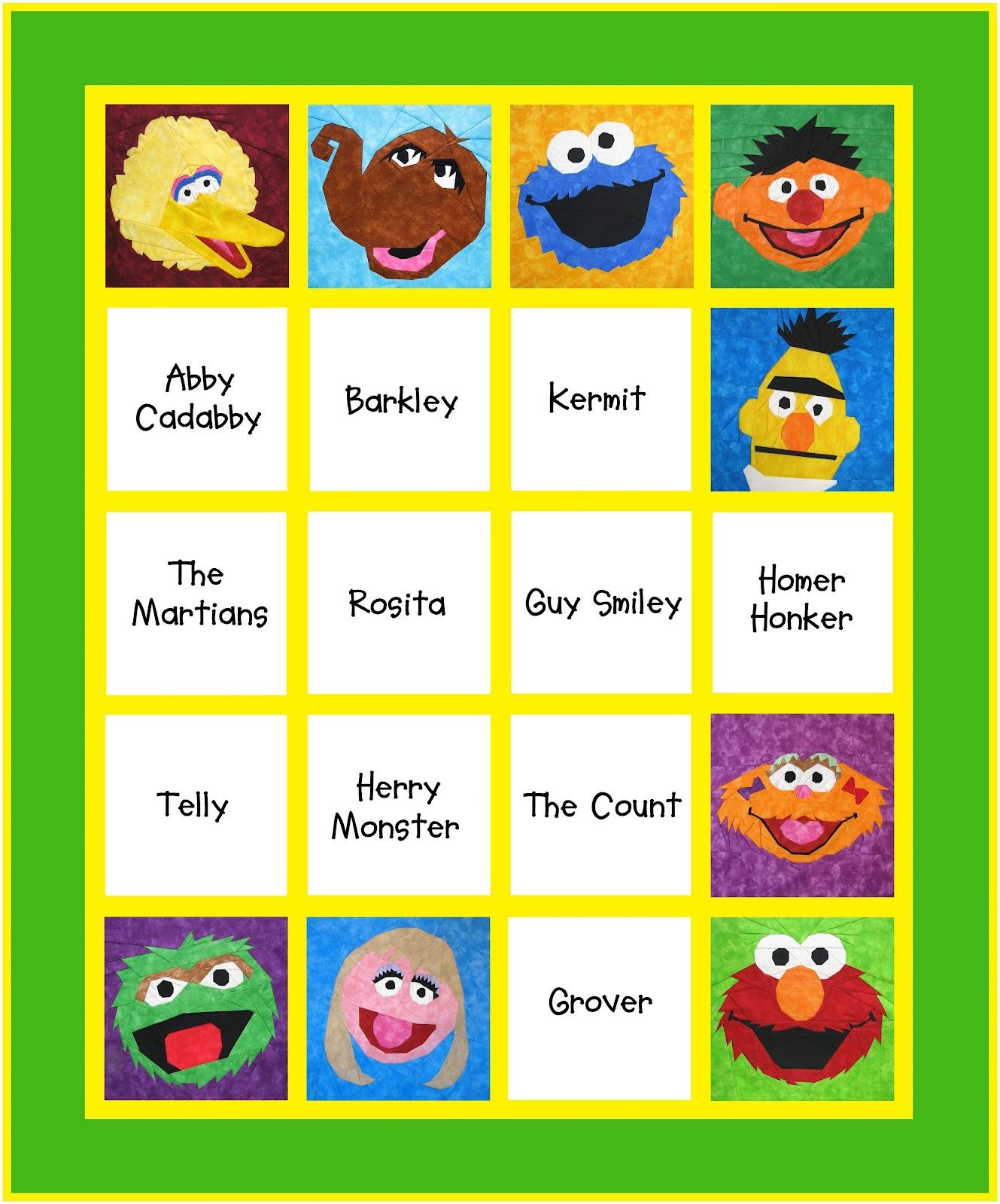 Names And Pics Of Sesame Street Characters - impremedia.net