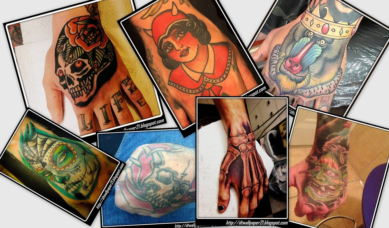 Desktop Wallpaper || Background Screensavers: Hand Tattoo ...