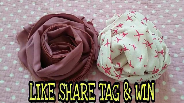 PRELOVED SHAWL GIVEAWAY | EL DARWENA PAGE