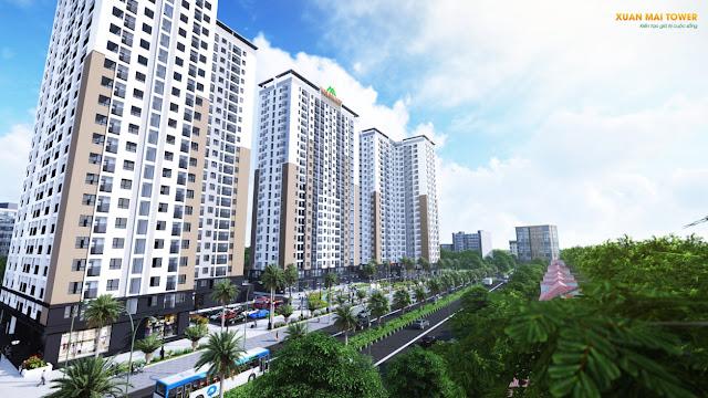 Xuân Mai Tower - biểu tượng mới của thành phố Thanh Hóa