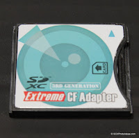 Extreme CF Adapter SD to Type II CF / 3rd Gen Review