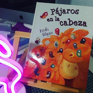 album ilustrado, picarona, obelisco, pajaros en la cabeza, monika filipina, que estás leyendo,
