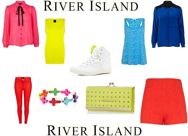 River Island Neon Fashion