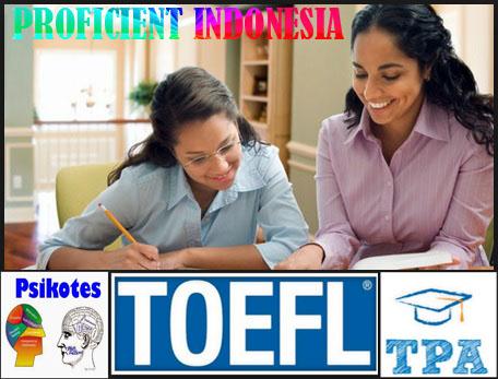 Les Privat/Kursus Psikotes, Toefl dan TPA di Medan [Guru ke Rumah]