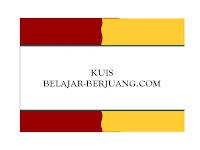 Inilah Pemenang Lomba Kuis BELAJAR-BERJUANG.COM Edisi I