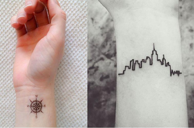9 Tatuagens Para Quem Ama Viajar! ♥