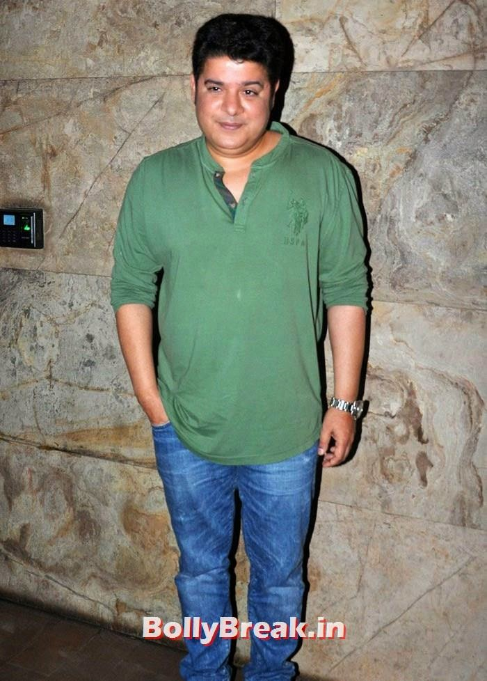 Sajid Khan, 'Humshakals' Movie Special Screening Pics