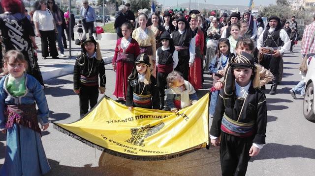 """Συμμετοχή στις επετειακές εκδηλώσεις της 25ης Μαρτίου 1821 για τον """"Εύξεινο Πόντο"""" Μεταμόρφωσης."""