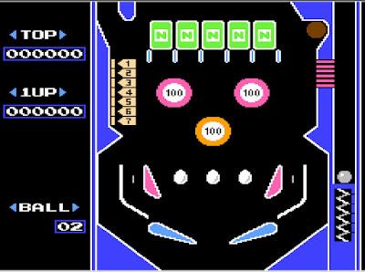 【FC】彈珠檯(Pinball),1983年懷舊的紅白機彈珠台遊戲!