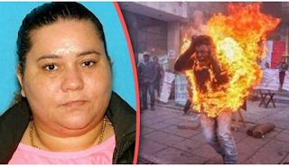 Γυναίκα έκαψε τον άντρα της, όταν έμαθε ότι βίαζε την 7χρονη κόpη τους