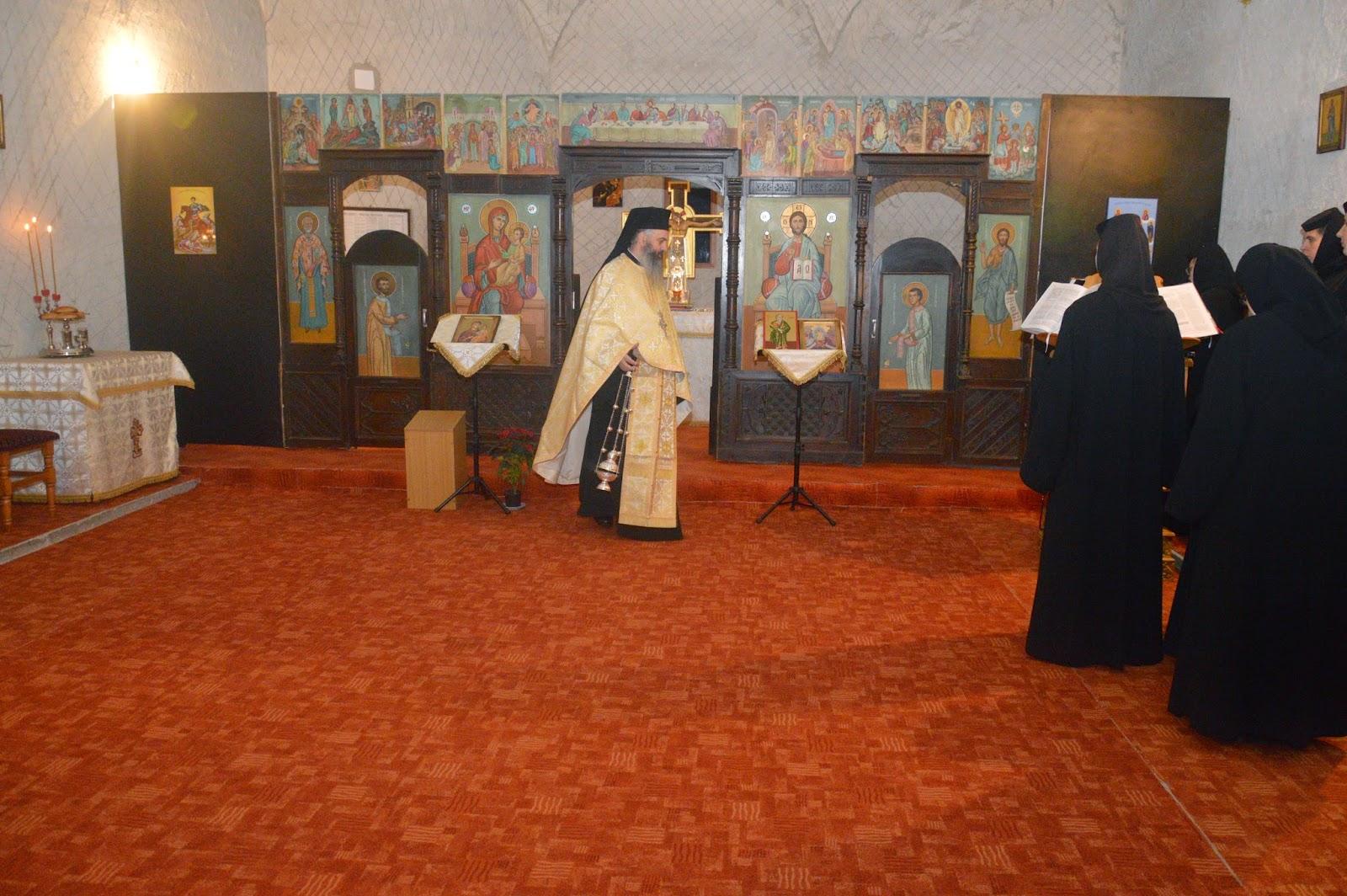 Priveghere, Manastirea Mihai Voda