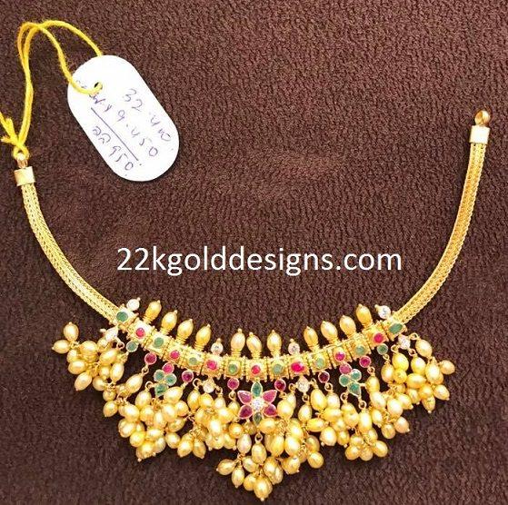 Very Simple Guttapusalu Necklace