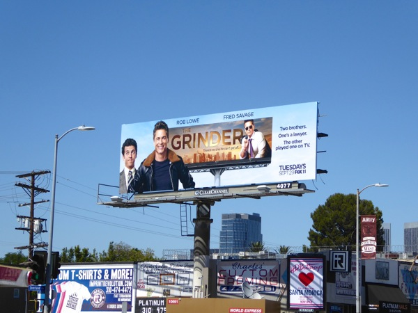 The Grinder series billboard