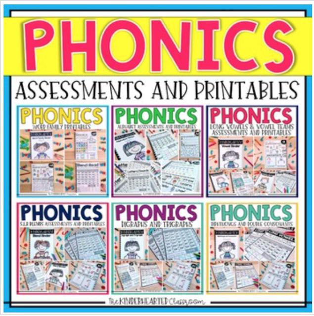 Phonics and Progress Monitoring Bundle
