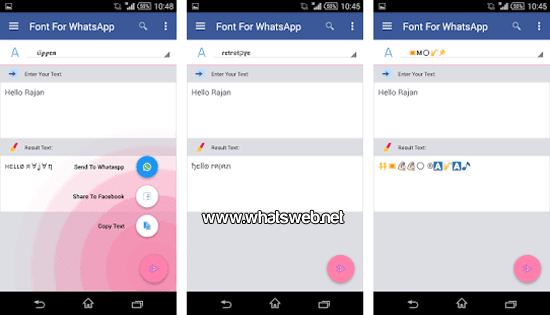 Fonts For WhatsApp para Android