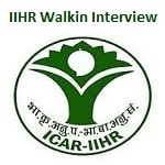 IIHR Bangalore Various Post Recruitment 2019