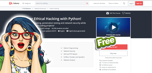 Master Ethical Hacking with Python Free Download | Freetechways
