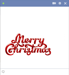 Merry Christmas Cool Letters
