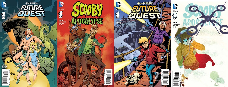 Weird Science DC Comics: DC Comics Releases More Variant Covers For