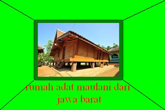 410+ Gambar Rumah Adat Jawa Barat Dan Keterangannya Terbaru