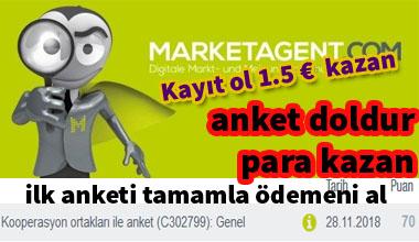 MarketAgent ile anketlerden para kazanmayan kalmayacak!