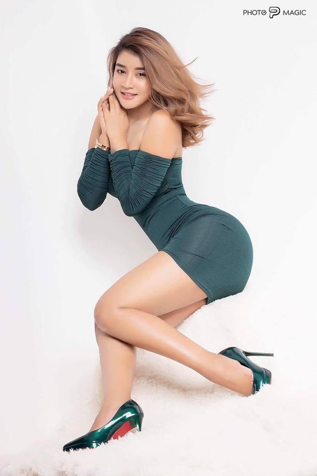 Myanmar Hot Actress Chaw Kalayar Dance Video Clip -8280