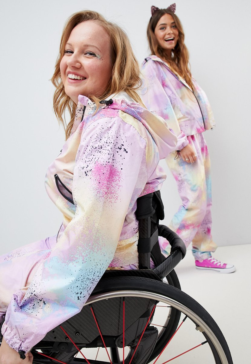 Asos praised for wheelchair friendly clothing