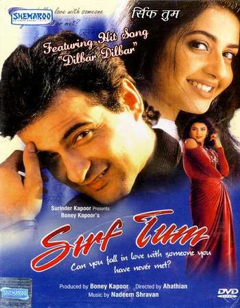 Poster Of Sirf Tum 1999 Hindi 700MB DVDRip 720p ESubs HEVC Watch Online Free Download downloadhub.in