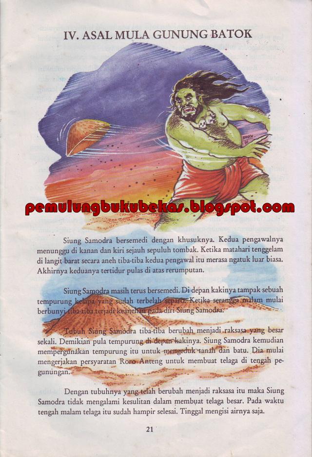 Kumpulan Cerita Rakyat Jawa Timur Pemulung Buku Bekas