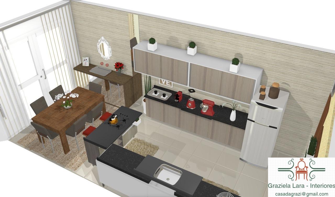 Construindo Minha Casa Clean Consultoria De Decora O Cozinha E  -> Minha Sala E Cozinha