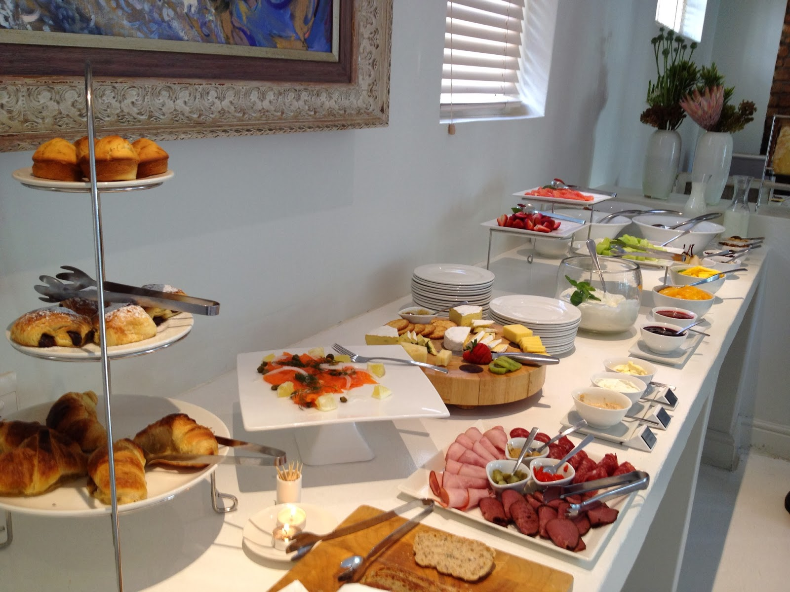 Cape Town - The Cape Cadogan breakfast spread