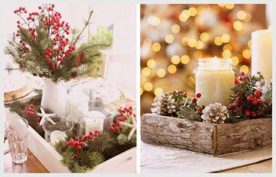 Χριστουγεννιάτικες συνθέσεις με ΚΕΡΙΑ