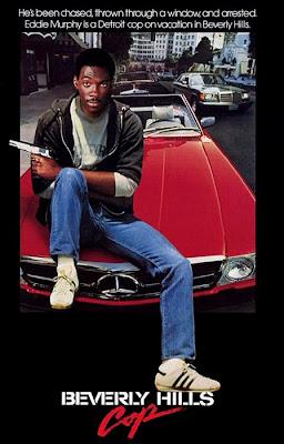 Eddie Murphy în Beverly Hills Cop, filmul din 1984