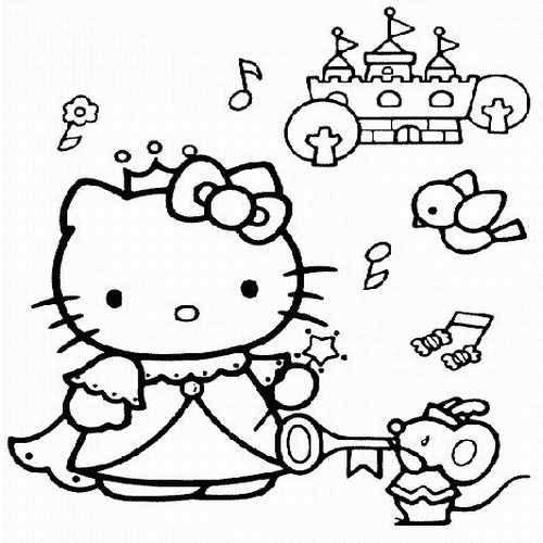 hello kitty coloring pages online - coloring pages hello kitty colloring pages 2011